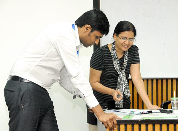 Dr. Subramani Paramasivam and Dr.Janet Lourds Rani