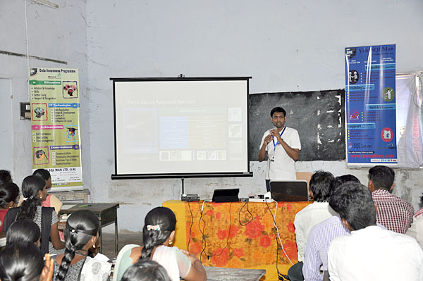 Data Awareness Programme session delivery by Dr.Subramani Paramasivam