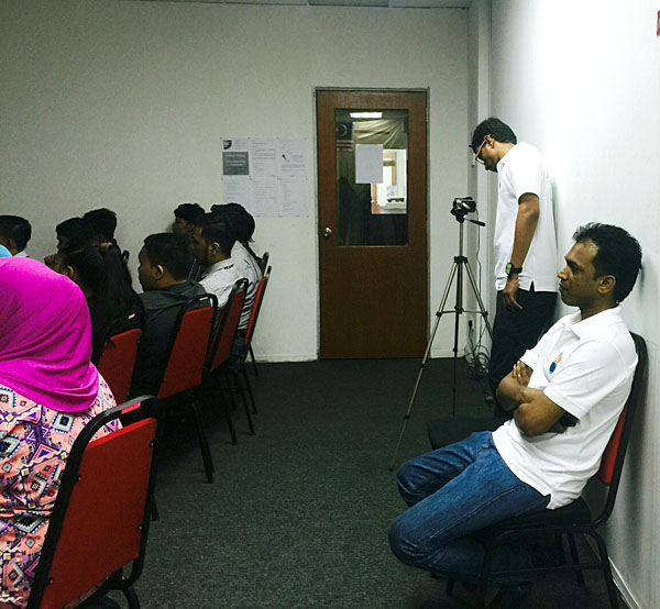 DAGEOP Malaysia team supporting the delivery of Data Awareness Programme