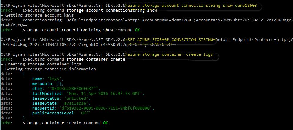Manage Azure Storage Account using Azure CLI | Data