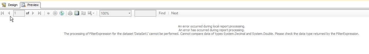 SSRS Error