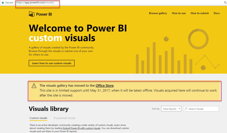 custom visuals | Data Awareness Programme