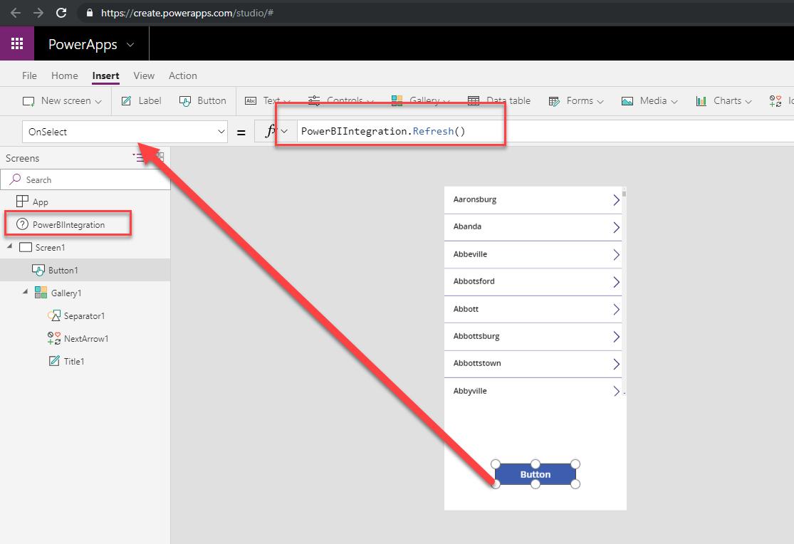 Dataset Refresh in PowerApps Custom visual   Data Awareness